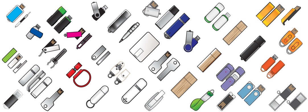 Thousands of USB styles with endless options